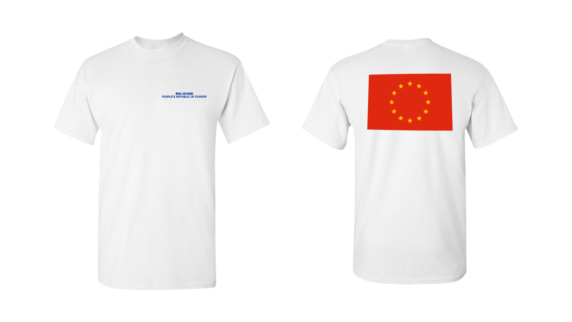 T-shirt Red Flag